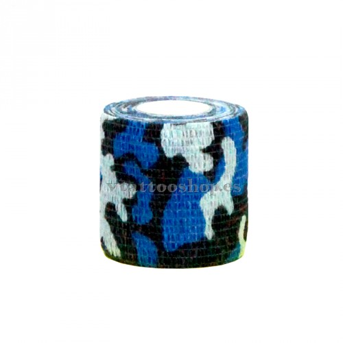 GRIP COVER 50 mm BLUE MILITARY 1 pc.