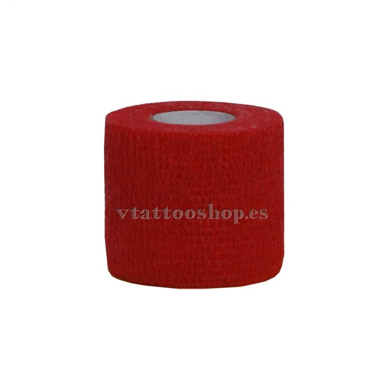 cohesive bandage red