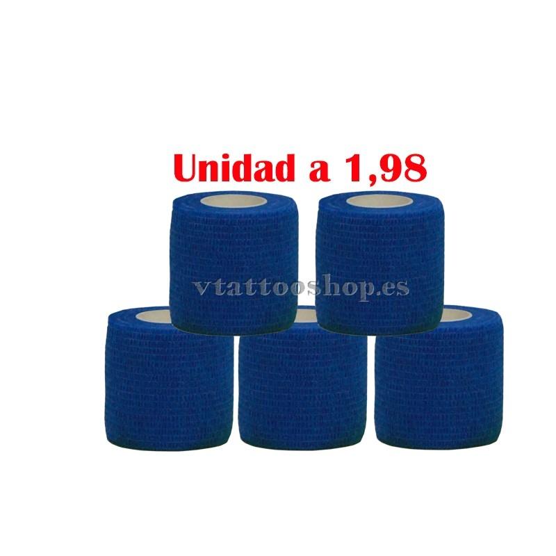 cohesive bandage blue 5 units