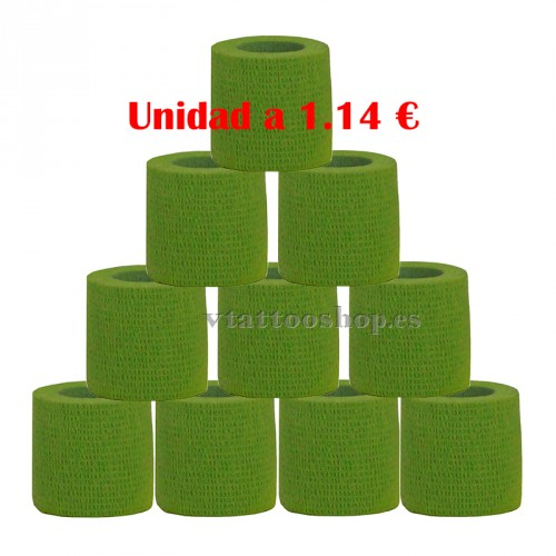 GRIP COVER GREEN 50 mm 12 units