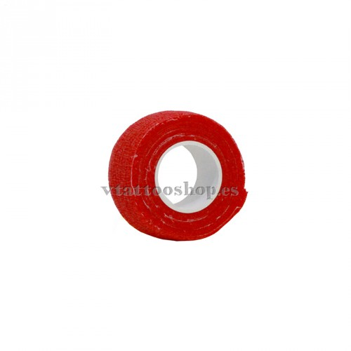cohesive bandage red 25 mm