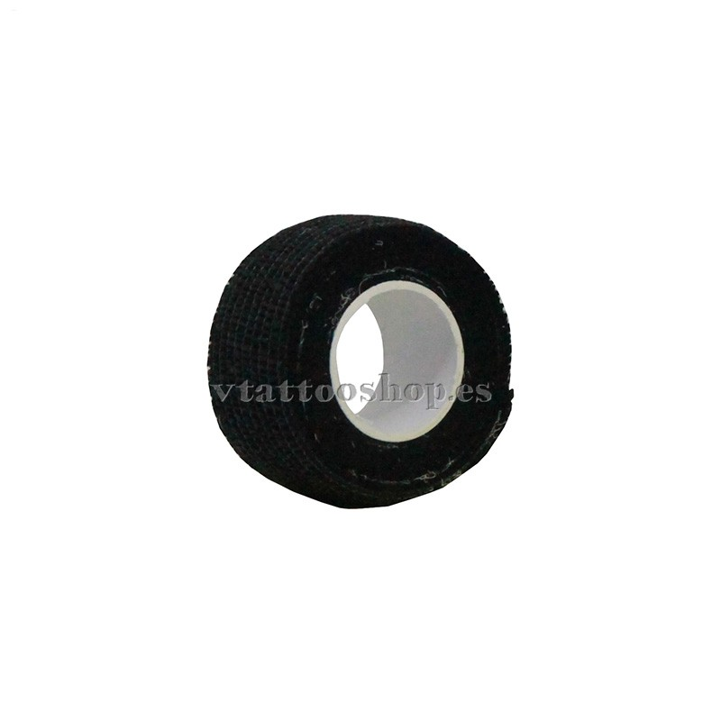 cohesive bandage black 25 mm