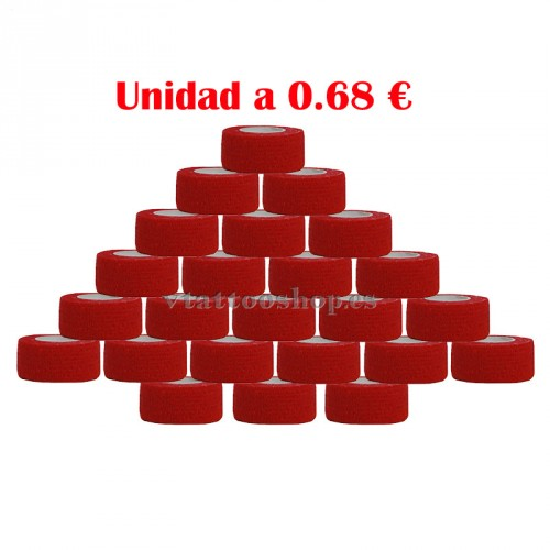 cohesive bandages red 24 pc
