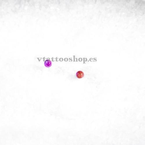 BOLA ROSAS 1.2 x 3 mm