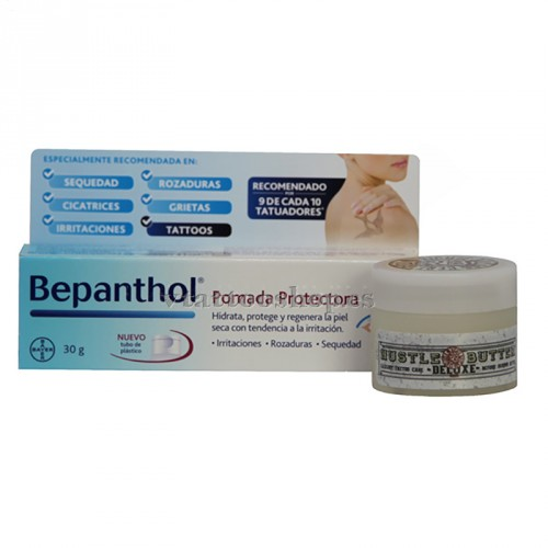 HEALING PACK BEPANTHOL AND HUSTLE BUTTER