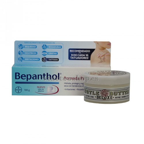 HEALING PACK BEPANTHOL AND HUSTLE BUTTER 150 gr