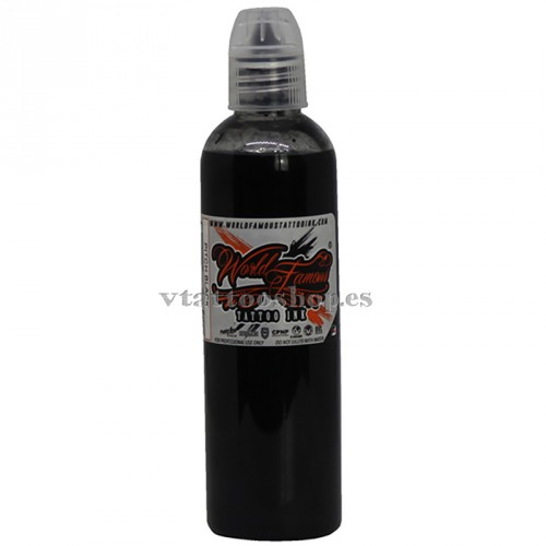 WOLD FAMOUS PITCH BLACK INK 4oz