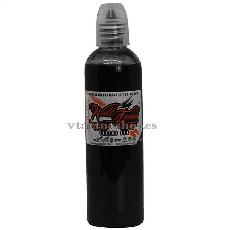 WOLD FAMOUS PITCH BLACK INK