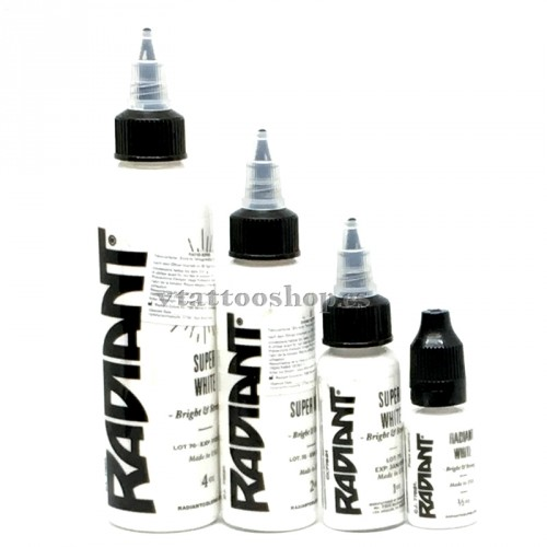 Radiant colors ink super white