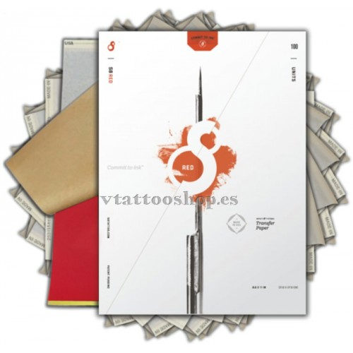 PAPEL TRANSFER THERMAL S8 1 ud.