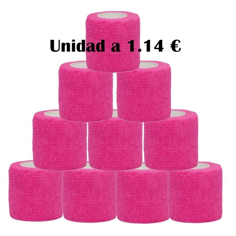 Cohesive bandages rose 12 units