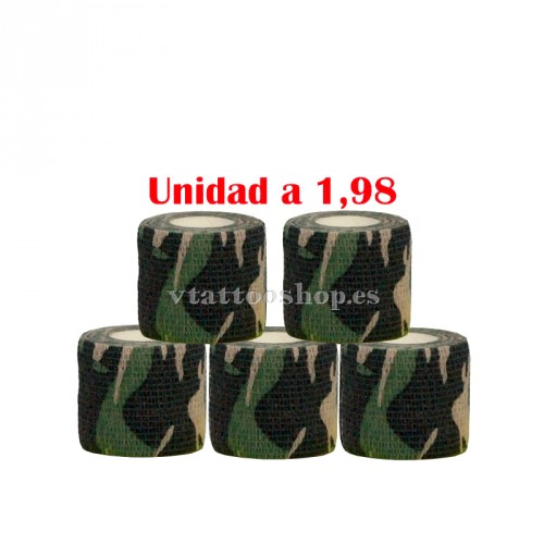 GRIP COVER 50 mm MILITARY 5 pcs.