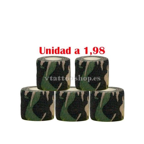 cubre grip militar 5 unidades