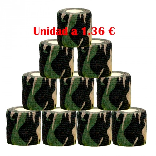 GRIP COVER MILITARY 50 mm 12 units