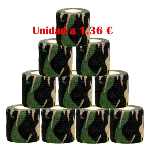 Cubre grip militar 12 unidades