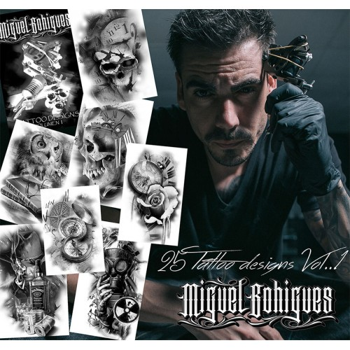 Libro de Tatuajes Tattoo Designs Vol1