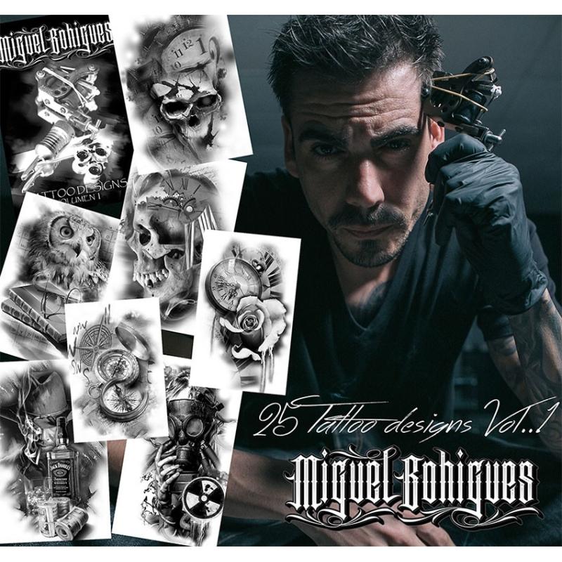 Libro de diseños de tatuajes Miguel Bohigues volumen 1
