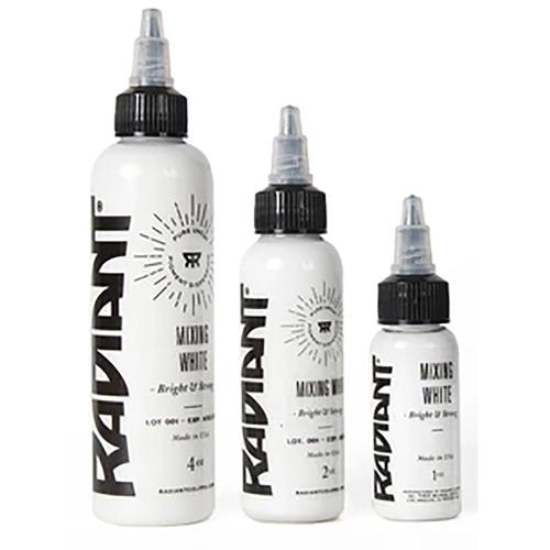 Super white Radiant ink