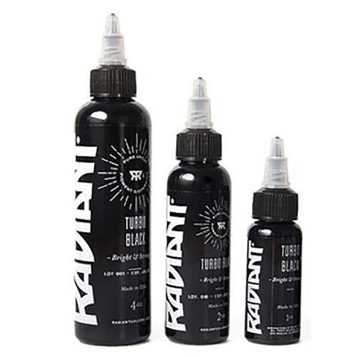 Tinta Radiant turbo black