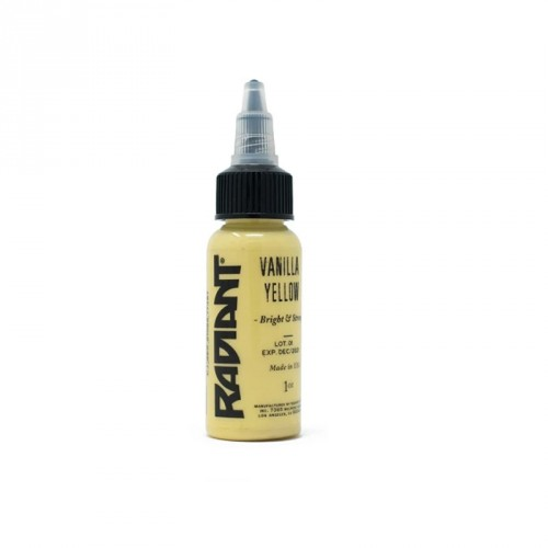 Tinta Radiant vainilla yellow 30ml (1 oz)