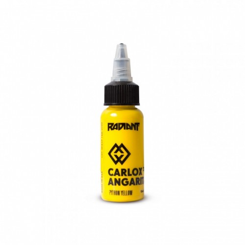 Python yellow Radiant ink Carlox Angarita 30ml (1 oz)
