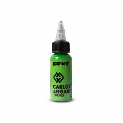 snake green Radiant ink Carlox Angarita 30ml (1 oz)