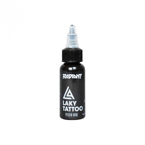 Tinta Radiant poison wine Laky Tattoo 30ml (1 oz)
