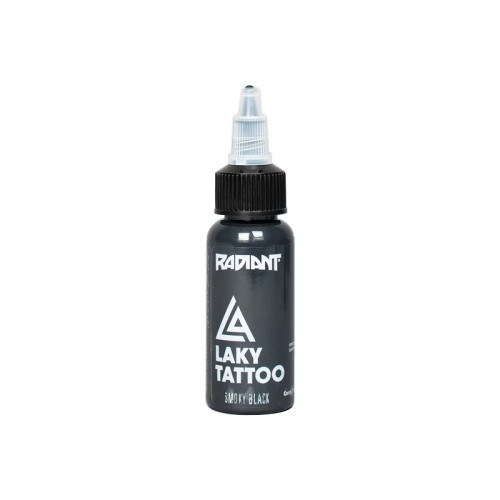 Tinta Radiant smoky black Laky Tattoo 30ml (1 oz)