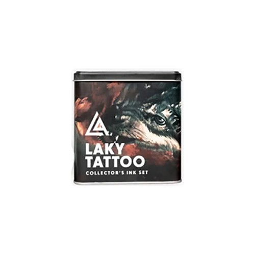Set completo de 9 tintas Radiant Laky tattoo 30ml (1 oz)