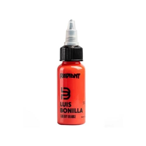 Fan boy orange Radiant ink Luis Bonilla 30ml (1 oz)