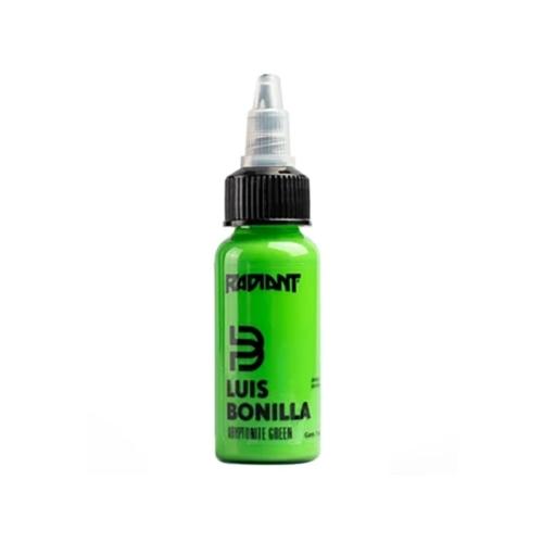 Tinta Radiant kryptonite green Luis Bonilla 30ml (1 oz)