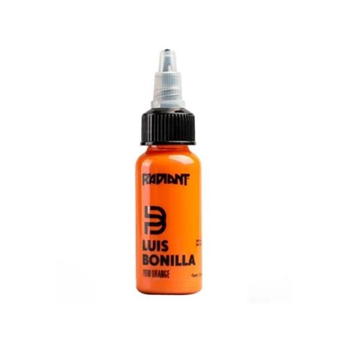 Pow orange Radiant ink Luis Bonilla 30ml (1 oz)