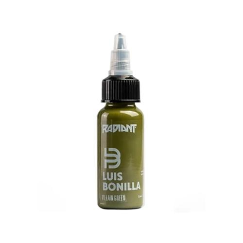 Villain green Radiant ink Luis Bonilla 30ml (1 oz)