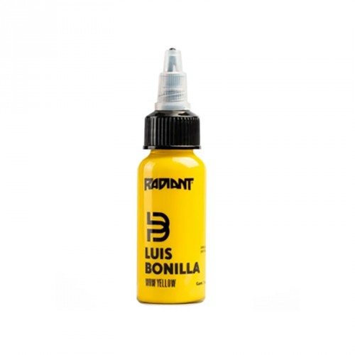 Wow yellow Radiant ink Luis Bonilla 30ml (1 oz)