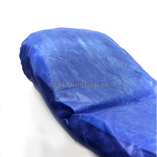 BLUE ADJUSTABLE SHEETS 90x210 cm. 100 pcs