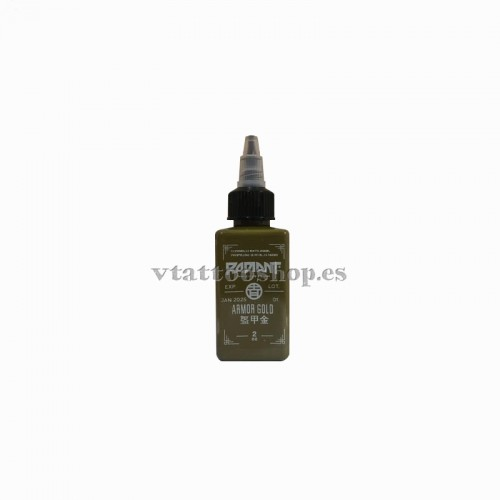 Tinta Radiant colors armor gold