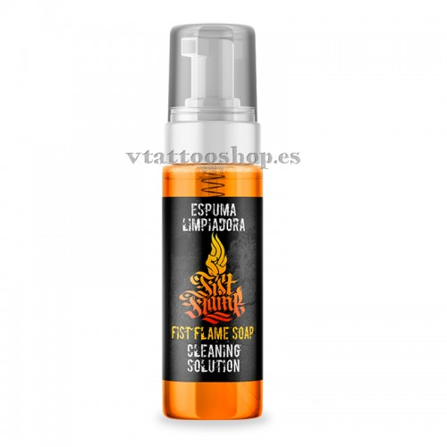FOAM FIST FLAME 220ml.