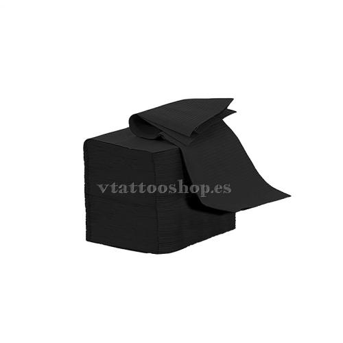 NON-STERILE FIELDS BLACK 33x45 cm. 100 pcs.