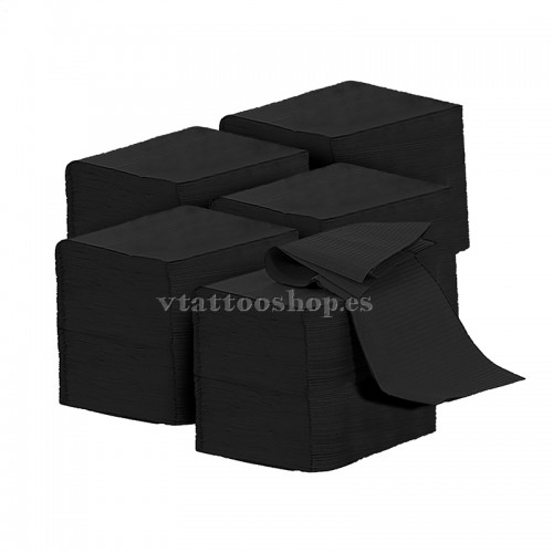 NON-STERILE FIELDS BLACK 33x45 cm. 500 pcs.