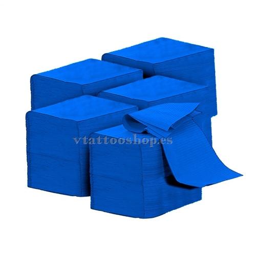 CAMPOS NO ESTÉRILES AZULES 33x45 cm. 500 uds.