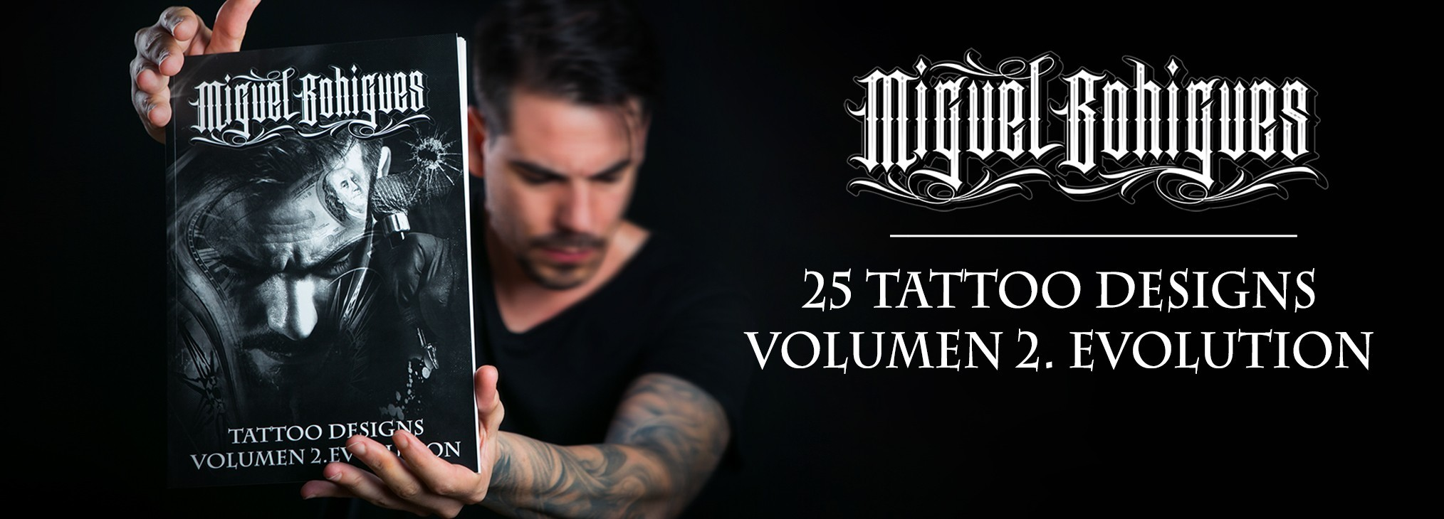 BOOK TATTOO DESIGNS VOL2 BY MIGUEL BOHIGUES